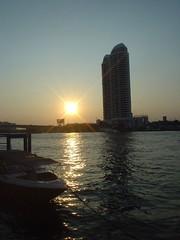 111.昦??耶河上的夕陽