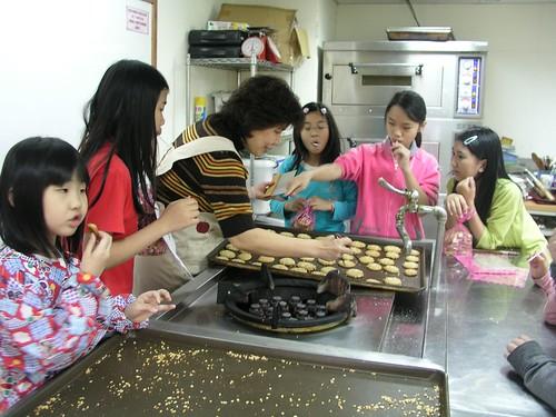 上課情形@永和救國團兒童烘焙班