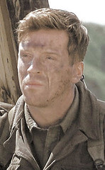 Damian Lewis as Major Richard Winters in Band of Brothers