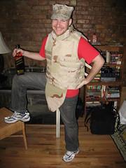 Captain Dave in Kevlar Vest