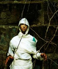 Mummy_O 081 (scenemissingmagazine) Tags: monster georgia athens undead mummy bandages thecasualmummy