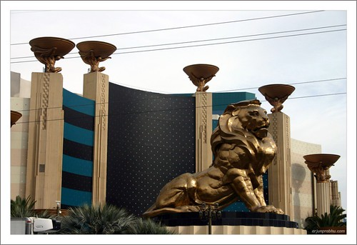 MGM Grand Lion at Las Vegas