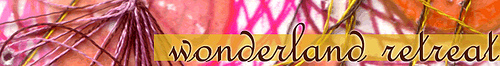 wonderland retreat banner
