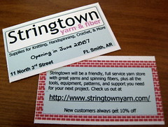 Stringtown Promo Cards