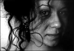 .chiaranera #2. (.nora.) Tags: portrait girl ed curls nora riflessi bwportrait norina creativephotographers chiaradettafraubroken metropolitani eleonorazaniboni
