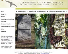 UW anthropology homepage
