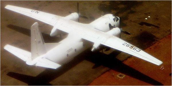 Avión maqueado por Sudán para bombardear Darfur, según informe secreto de la ONU