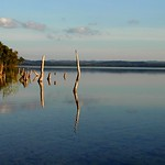 reflection in Lake Petén Itza