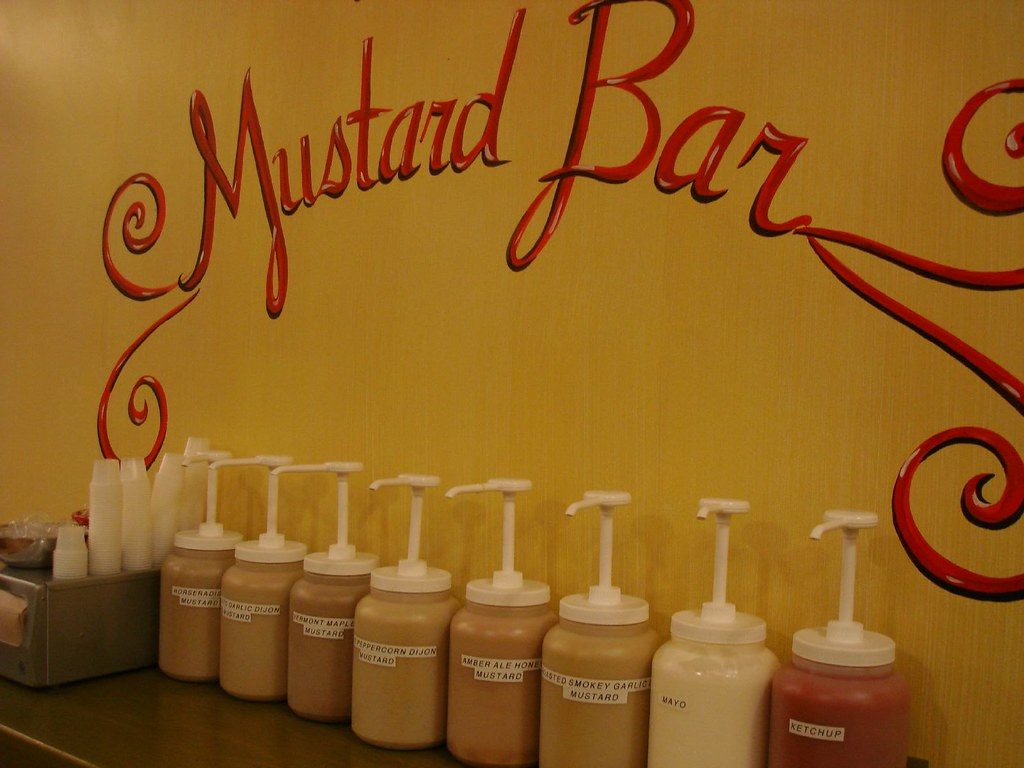 The Mustard Bar @ Mandlers, Midtown NYC