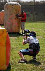 (Mulletar) Tags: fun awesome nikond50 guns paintball speedball afsdx55200mm bewm survivorpaintball