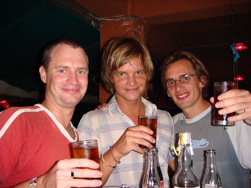 Ben, me and Will at the birthday party in Chiang Mai