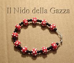 braccialetto-17-rosso-nero-