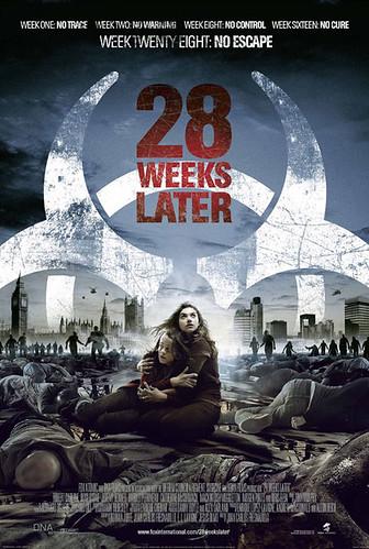 poster oficial 28 semanas despues - exterminio 2