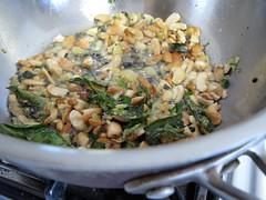 Split black gram- mustard seeds- cashews- curry leaves- ginger and chili in groundnut oil for Upma-3.jpg