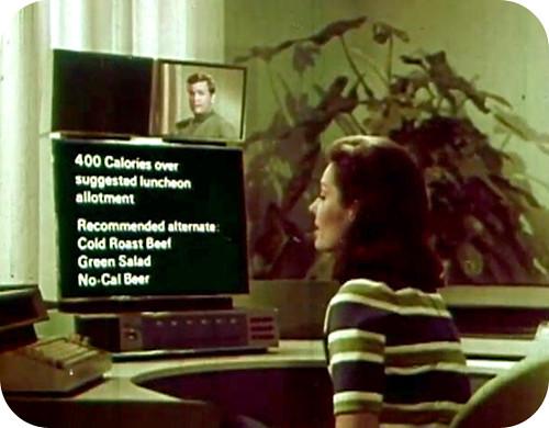 La cocina del futuro en 1967