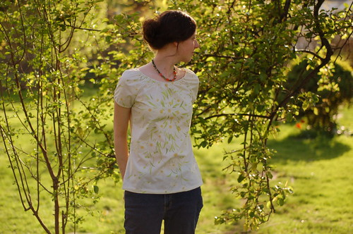 the shirt, again. . . simplicity 3835