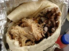 Carnitas Burrito Innards