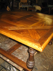 French Table (MarkJespersen) Tags: pond round restorations