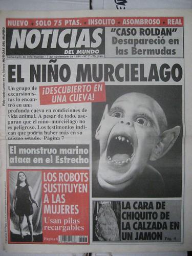 Noticias del Mundo - El niño murciélago