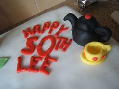Lee's Cake (rakieface) Tags: me cake 50th nath