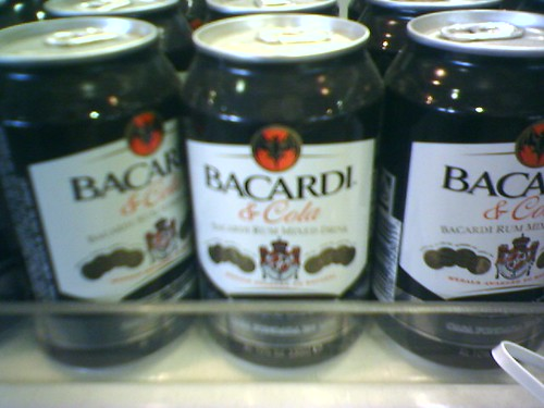 bacardi and cola