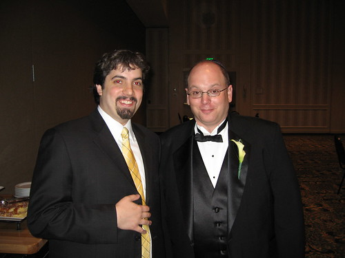 Gary Price & Barry Schwartz @ Gary & Lisa Price's Wedding