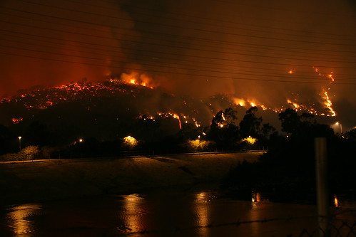 Griffith Park Fire & L.A. River