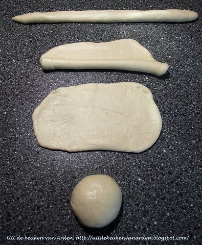 Making strands for braided breads