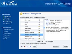 Mandriva Installation Screenshot 7