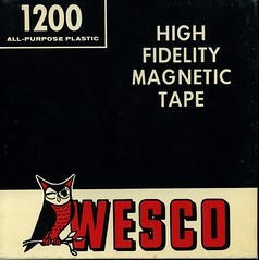 Wesco Magnetic Tape box