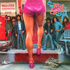 Wild-Eyed Southern Boys (epiclectic) Tags: music records sexy art classic rock vintage artwork legs personal album memories vinyl favorites retro collection jacket cover lp record illustrator 1980 sleeve soundtrack recordings sleeves redux 38special epiclectic mickmcginty safesafe