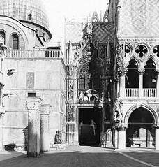 Venice, Italy - Palazzo Ducale di Venezia - Porta Della Carta