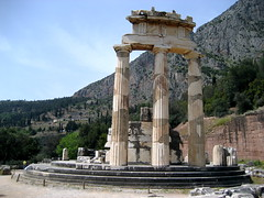 Tholos Ruins at Delphi - 7 (Josh Clark) Tags: ancient ruins delphi greece athena tholos