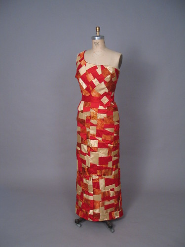 Fire Evening Dress