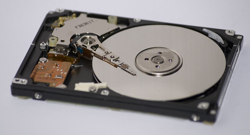 Death of a Hard Drive by Chris Bannister, on Flickr