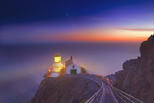 Night at Point Reyes Lighthouse