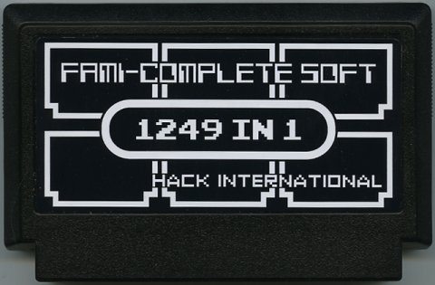 False Famicom - Fami-Complete Soft