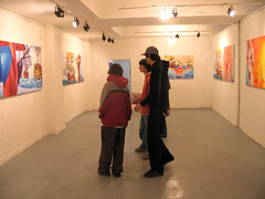oppening of exhibition Beach culture in Bercsényi 002
