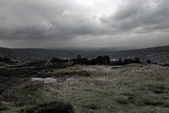 View from The Cow & Calf Rocks, Ilkley