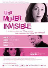 Póster y trailer de 'Una mujer invisible' de Gerardo Herrero
