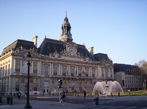 City Hall in Tours, France by nancy**.