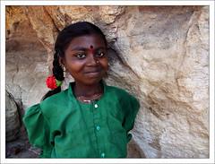 Shy Smile (Christian Lagat) Tags: portrait india green girl smile children geotagged women shy vert tresse karnataka grdigital enfant fille sourire inde badami भारत timide ricohgrd 50millionmissing 6millionpeople