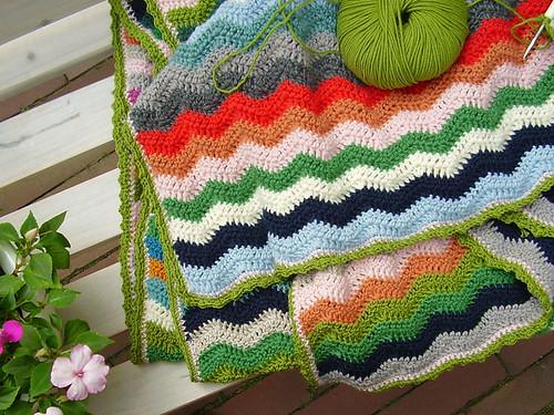 Püppilottchen: Ripple Blanket