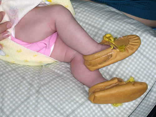 Her Aunty's Moccasins
