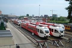 Station Groningen (boorsmah) Tags: holland train ns nederland rail railway groningen trein gtw spoorwegen treinen arriva stadler