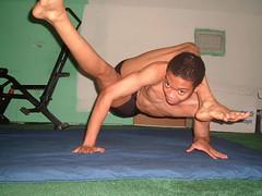 Eka Pada Sirsasana 4 (YogiOdie) Tags: shirtless yoga meditating meditation stretching contortion asana bendy flexibility flexible stretches stretchy limber ekapadasirsasana frontbend
