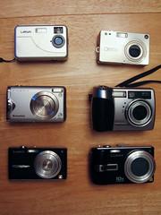 Six cameras