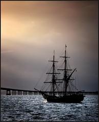 heading out to sea (jody9) Tags: topf25 oregon bravo columbiariver astoria tallship sailingship blueribbonwinner supershot magicdonkey artlibre superbmasterpiece firsttheearth diamondclassphotographer spittinshells