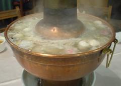 [吃] 圍爐酸菜白肉火鍋 (1)