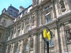 Paris city hall (katealch) Tags: paris france hoteldeville metro cityhall mairie pariscityhall mairiedeparis parismayor